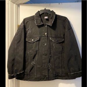 New NOBO denim jacket distressed 3XL 21